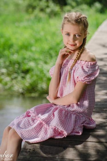 Sukienka dziewczęca...