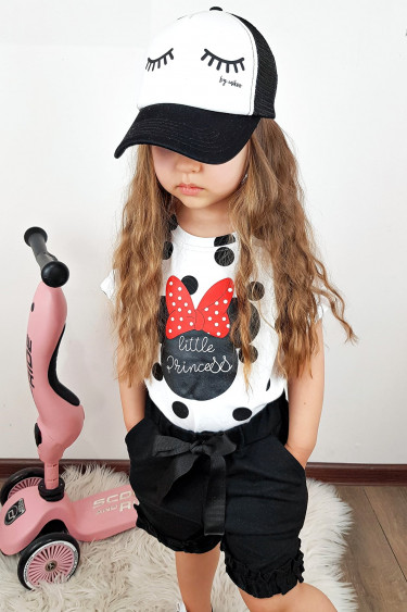 Spodenki dziewczęce czarne...